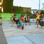 Gravesend street dancers outside of the studio